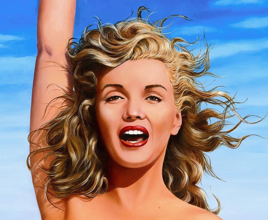 Marilyn Painting - Marilyn by James Robertson
