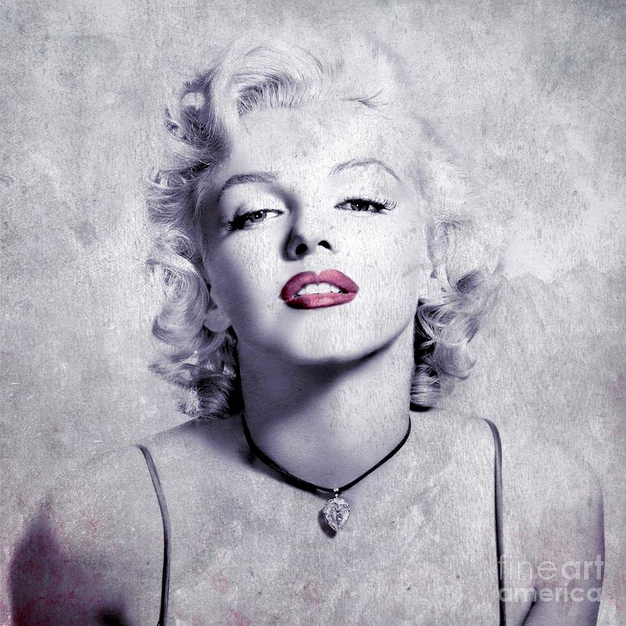 Marylin Digital Art - Marilyn Monroe - 0102b by Variance Collections