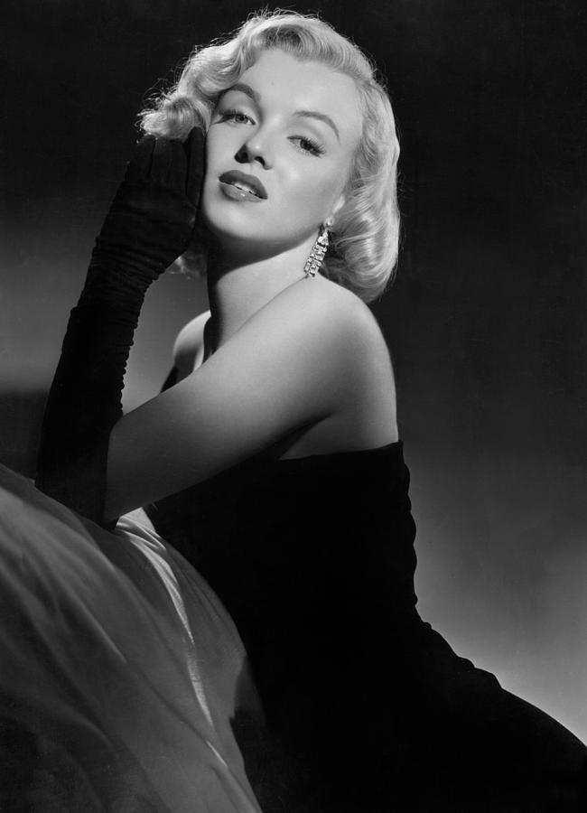 Marilyn Photograph - Marilyn Monroe by American School
