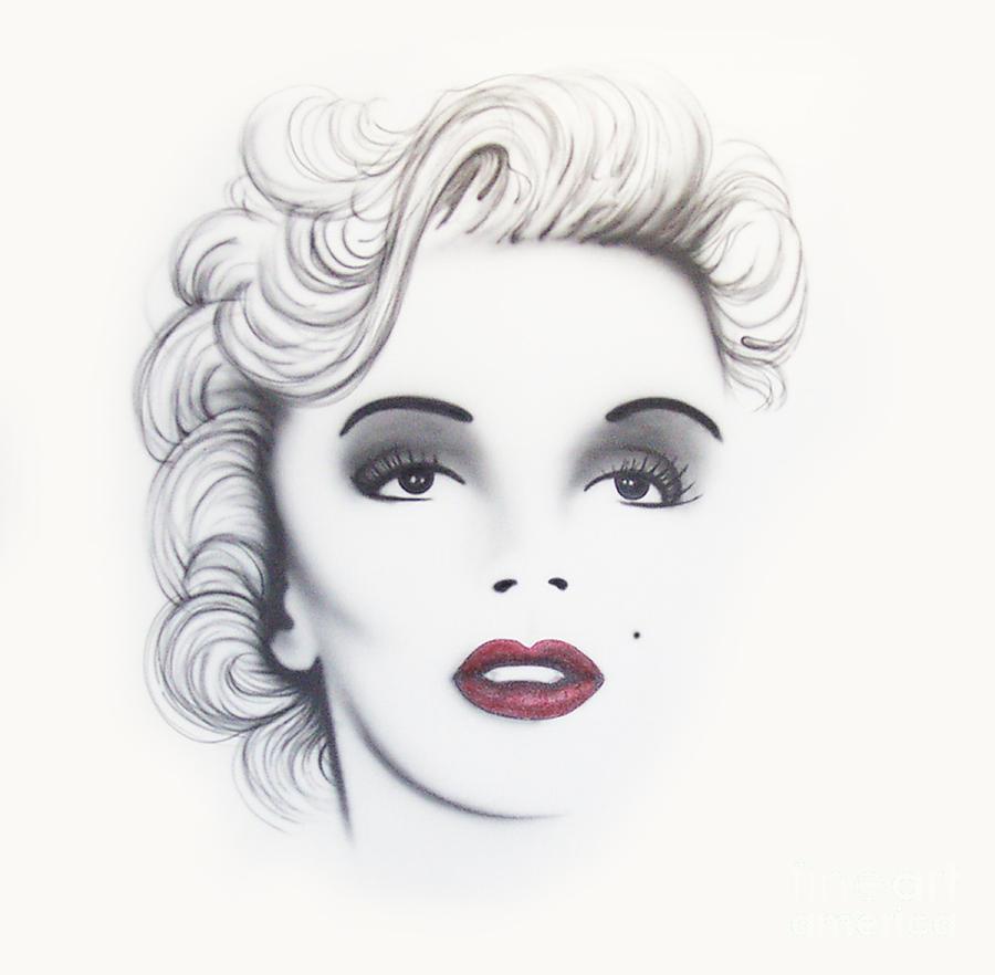Movie Painting - Marilyn Monroe by Devaron Jeffery