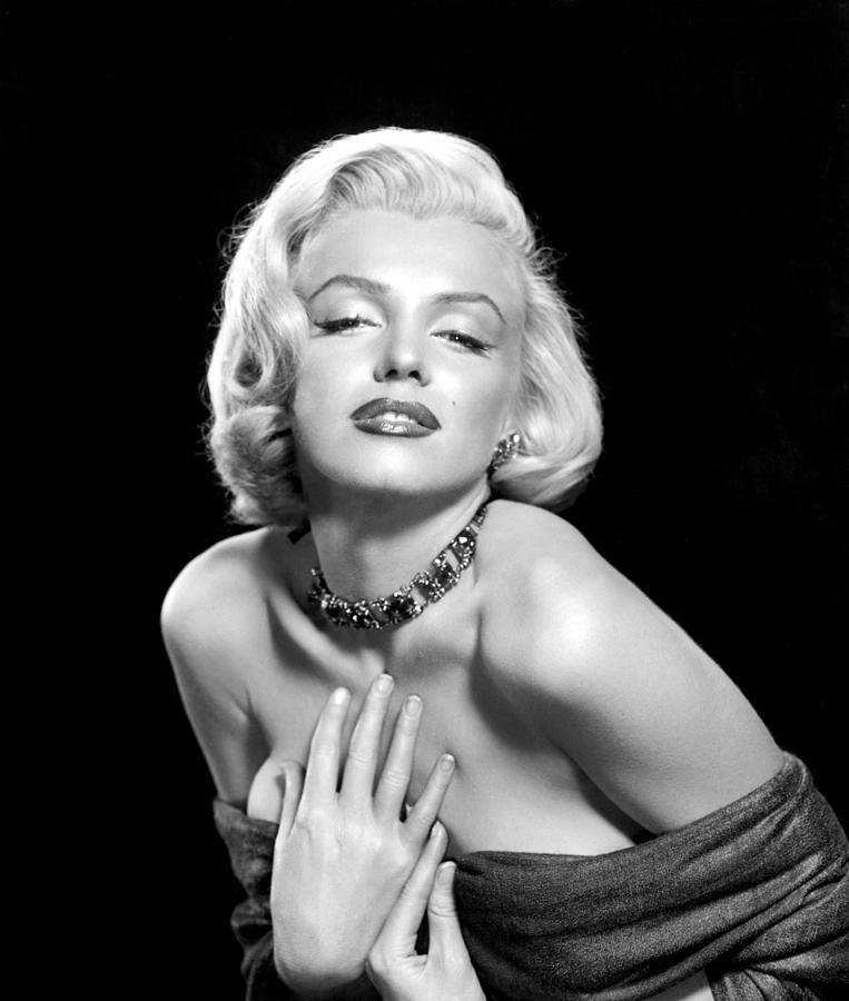 Bare Shoulder Photograph - Marilyn Monroe by Everett