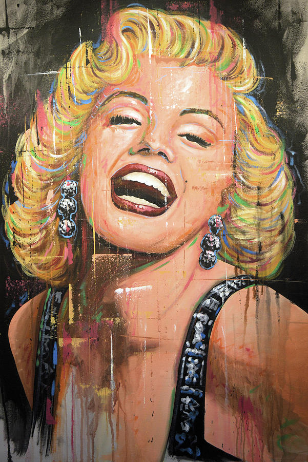 Marilyn Monroe Painting - Marilyn Monroe film movie actress art painting by Amy Giacomelli