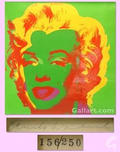 Marilyn Painting - Marilyn Monroe by Andy Warhol