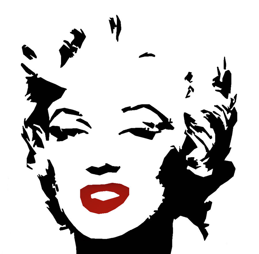 Marilyn Monroe In Black And White Digital Art By Art Spectrum