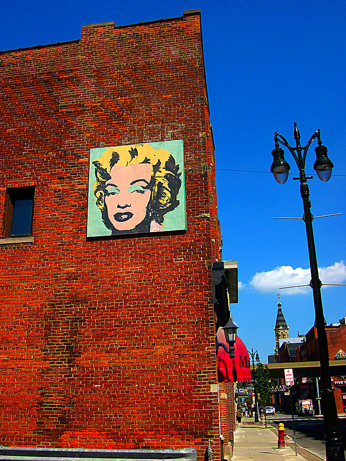 Guy Ricketts Photography Photograph - Marilyn Monroe In Detroit by Guy Ricketts