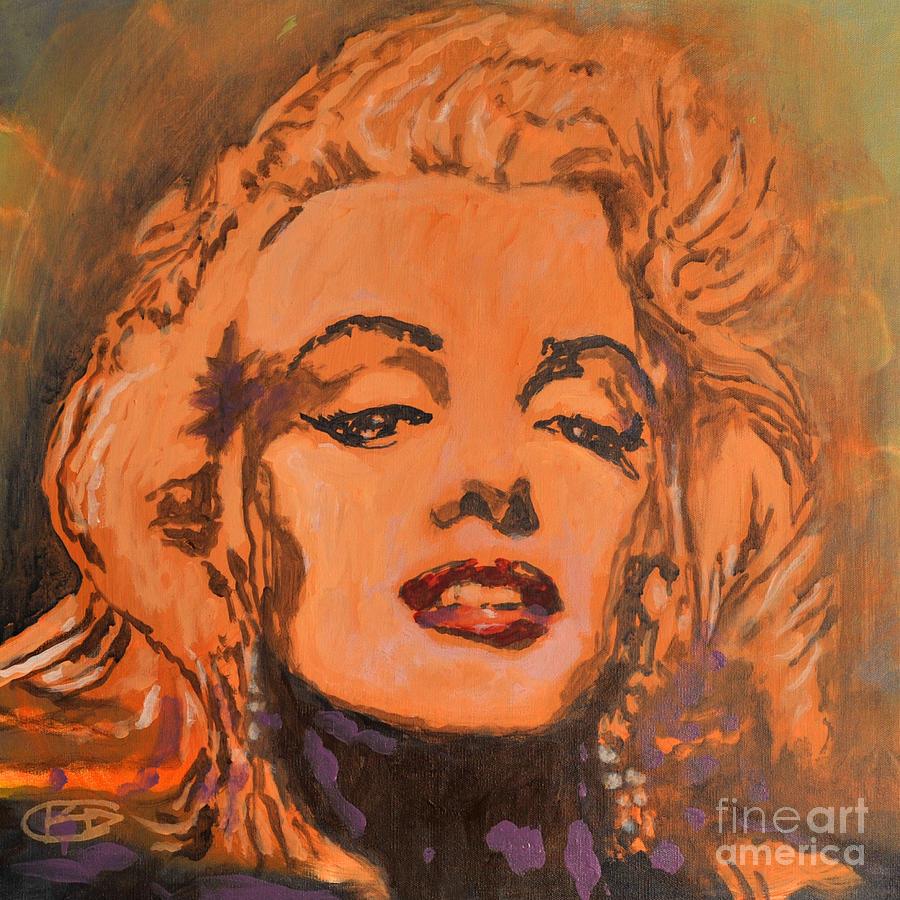 Marilyn Monroe Painting - Marilyn Monroe by Kip Decker