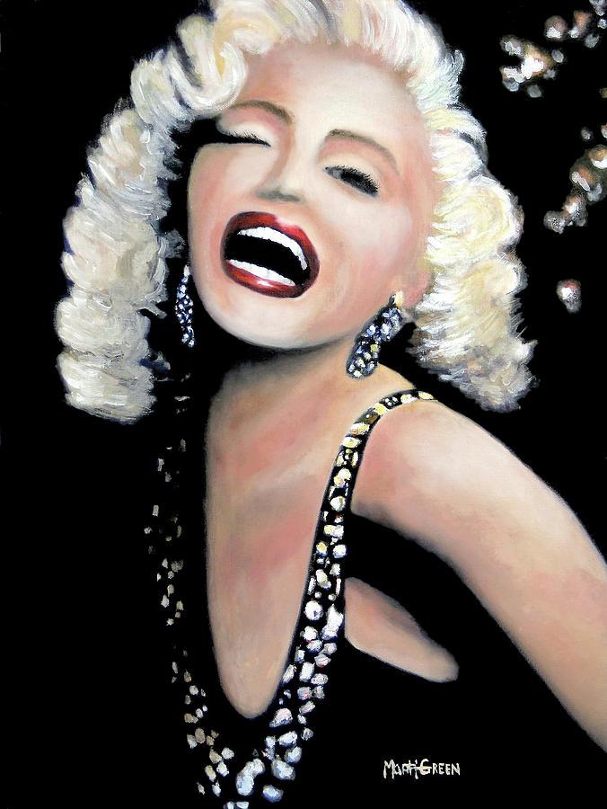 Marilyn Monroe Painting - Marilyn Monroe by Marti Green