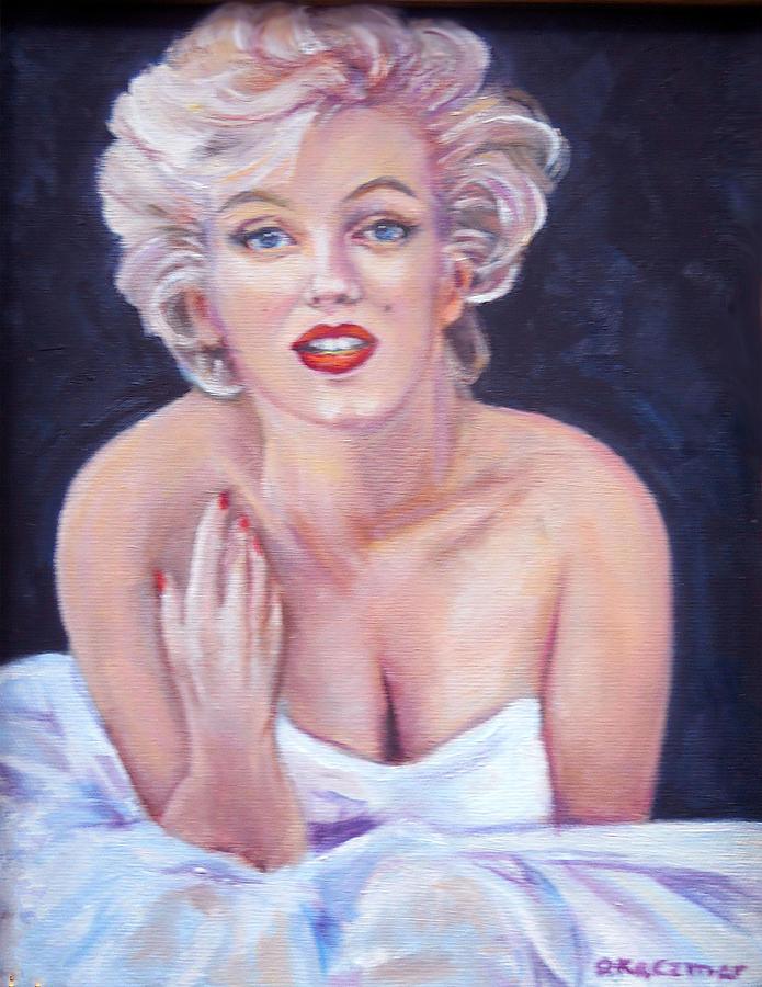 Marilyn Monroe Painting - Marilyn Monroe by Olga Kaczmar