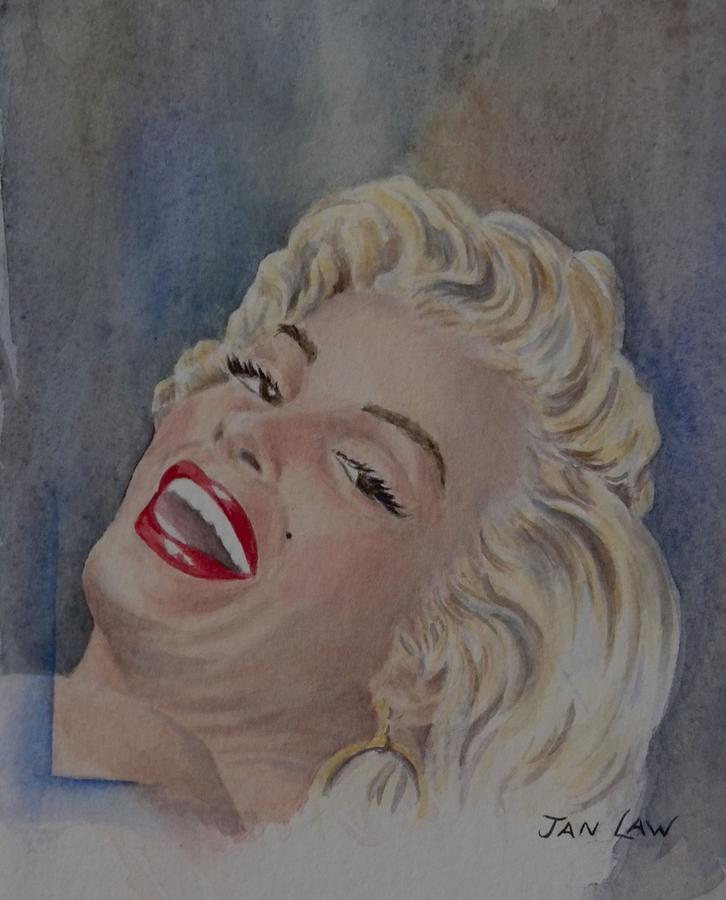 Marilyn Monroe Portrait by Jan Law
