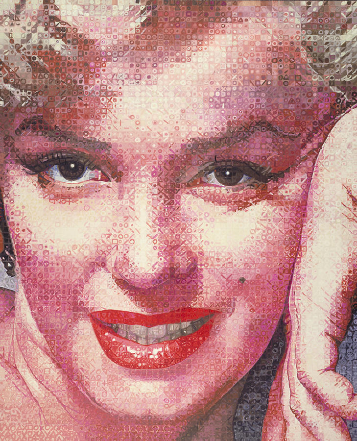 Marilyn Monroe Painting - Marilyn by Randy Ford
