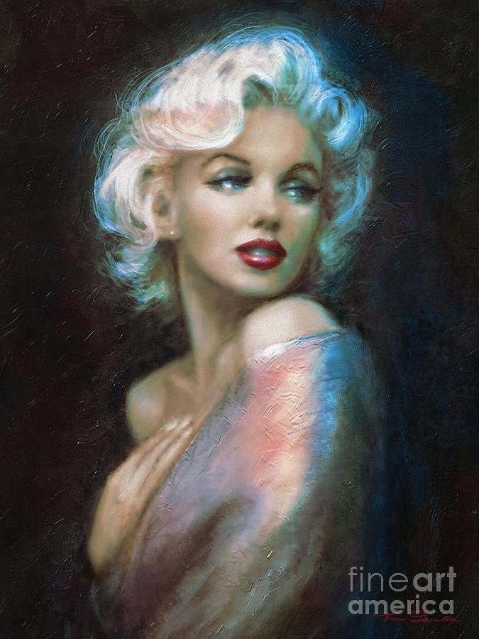 Marilyn Painting - Marilyn Romantic Ww 6 A by Theo Danella