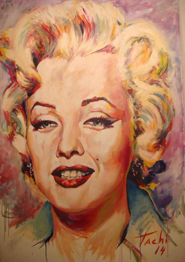 Marilyn by Tachi Pintor