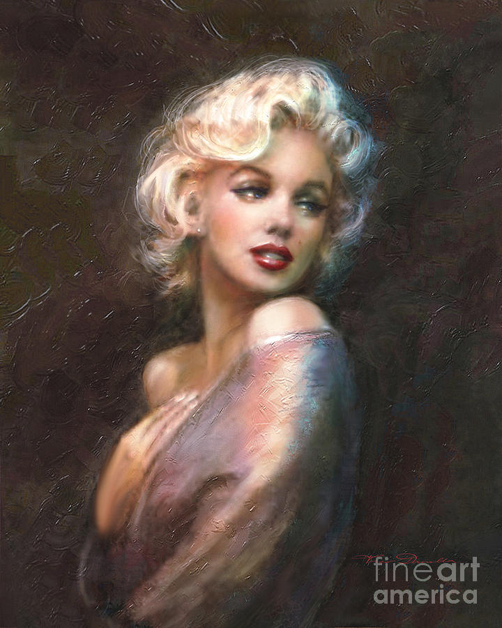 Theo Danella Painting - Marilyn Ww Classics by Theo Danella