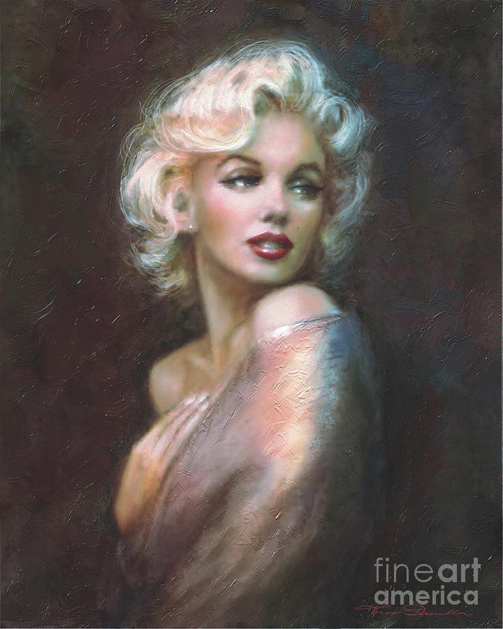 Theo Danella Painting - Marilyn Ww  by Theo Danella
