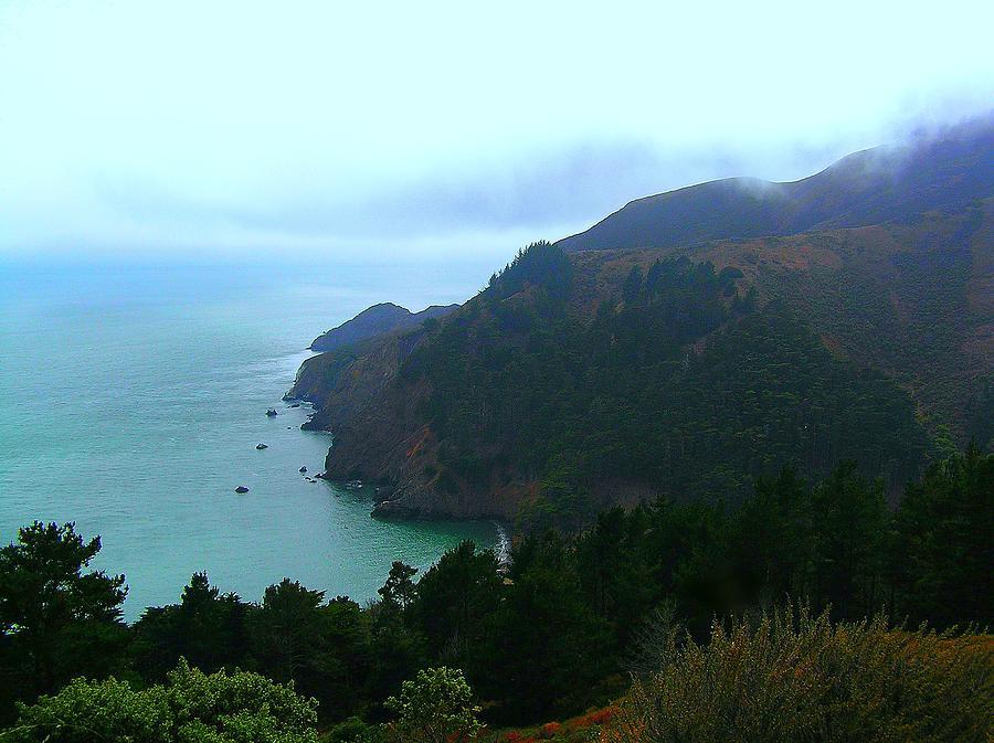 Marin Headlands Photograph - Marin Headlands In San Francisco California by Jen White