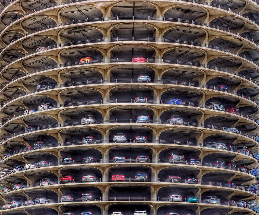 Marina City Chicago by Gia Marie Houck