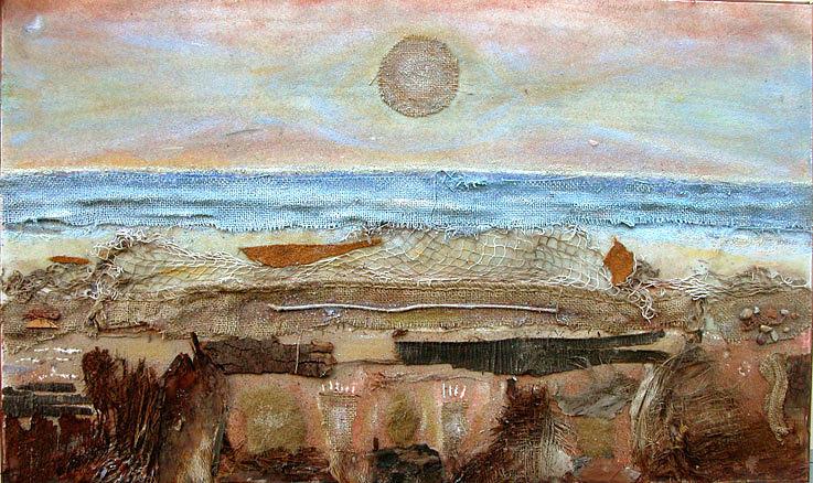 Mixed Media Painting - Marina Dinverno by Angelo Mazzoleni