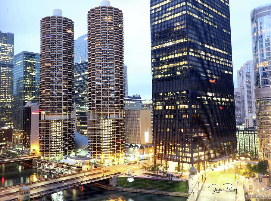 Marina Towers by Jackson Pearson