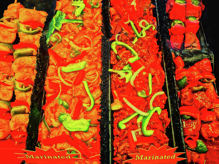 Food Photograph - Marinated 3 by Bruce Iorio