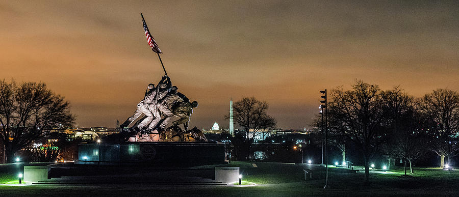 Marine Corp War Memorial, DC by T Brian Jones