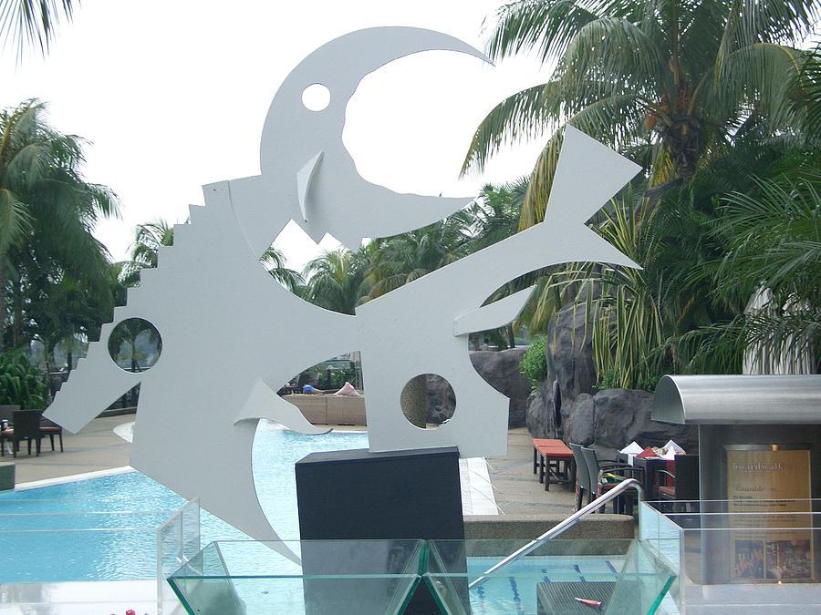 Wood Sculpture - Marine by Infantino Fernandes
