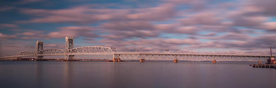 Bridge Photograph - Marine Parkway Bridge by Steve Booke