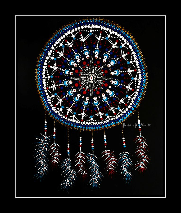 Mariner's Dream Catcher 2 with border by Barbara Griffin