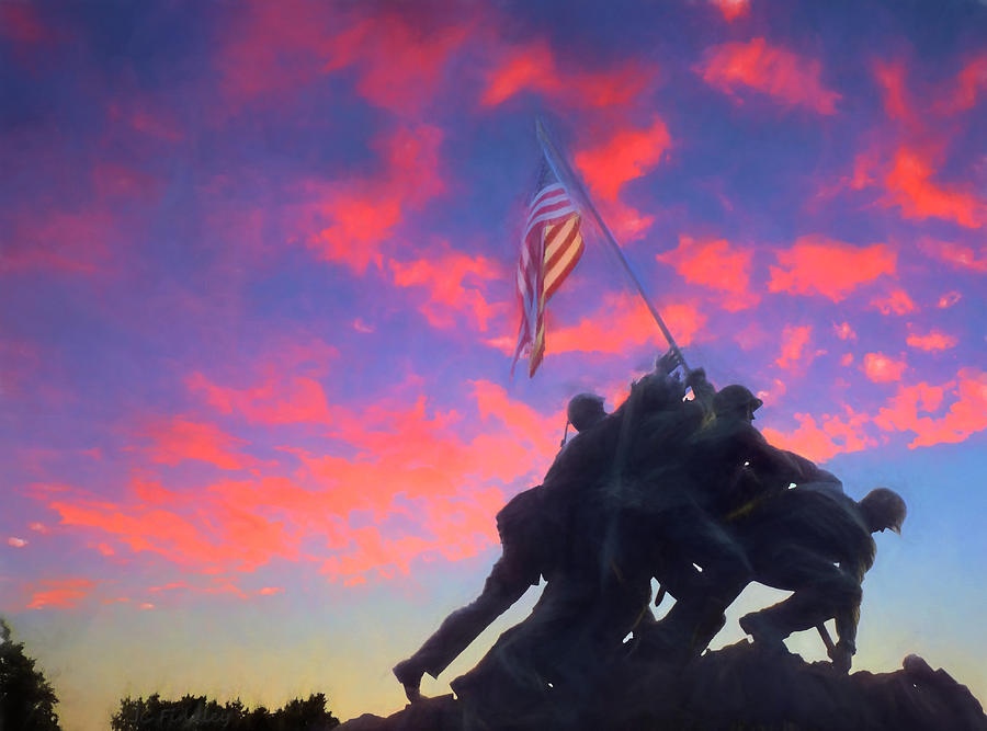 Marine Photograph - Marines At Dawn by JC Findley