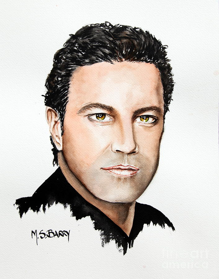 Mario Frangoulis by Maria Barry