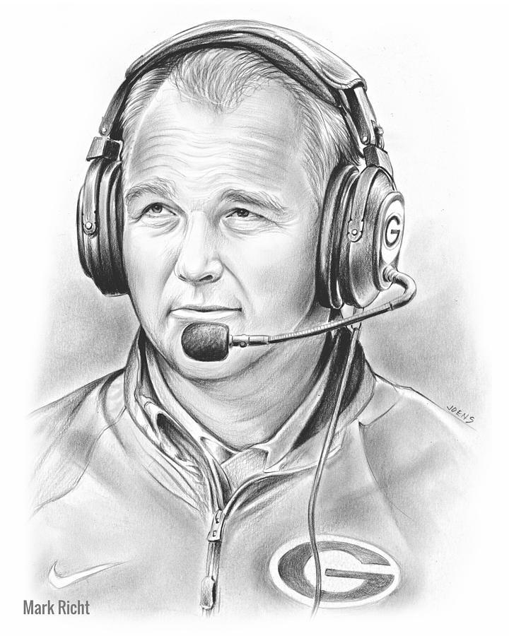 Mark Richt Drawing