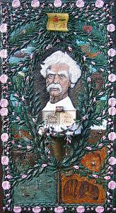 Artist Painting - Mark Twain by Gerald Sabatini