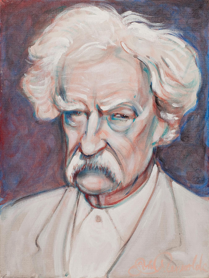 Mark Twain by John Reynolds