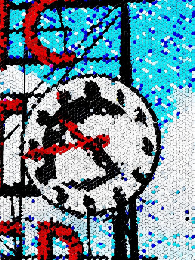 Seattle Digital Art - Market Clock Mosaic by Tim Allen