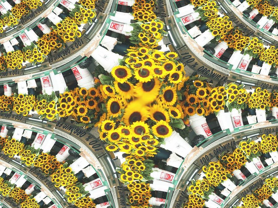 Flowers Photograph - Market Flowers by Tim Allen