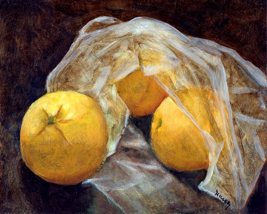 Still Life Painting - Market Fresh by Linda Hiller