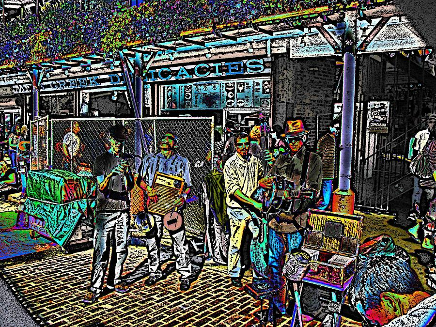 Market Digital Art - Market Interlude 2 by Tim Allen