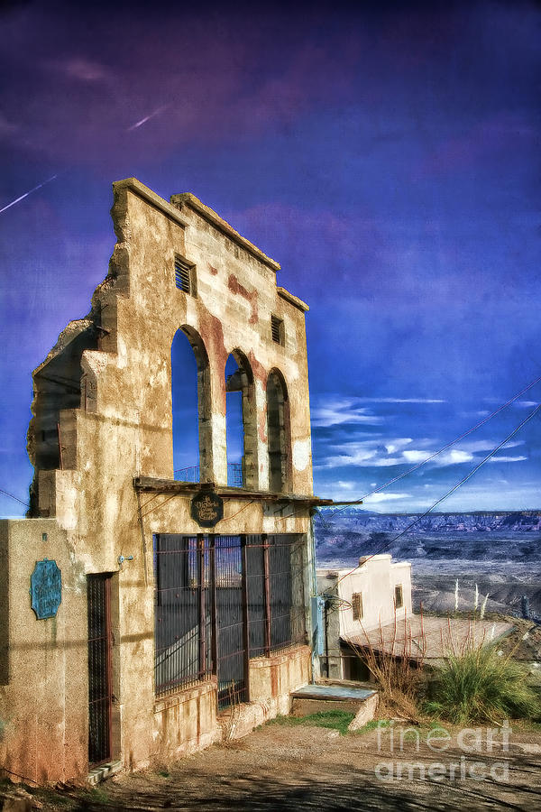 Market Ruins In Jerome Photograph by Teresa Zieba