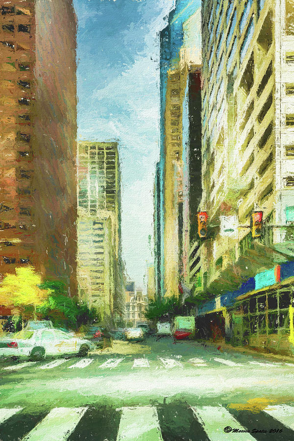 City Photograph - Market Street by Marvin Spates