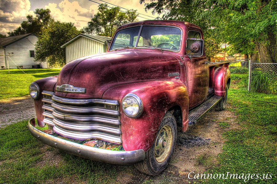 Chevy Photograph - Marks Truck by Steve and Nanci Cannon