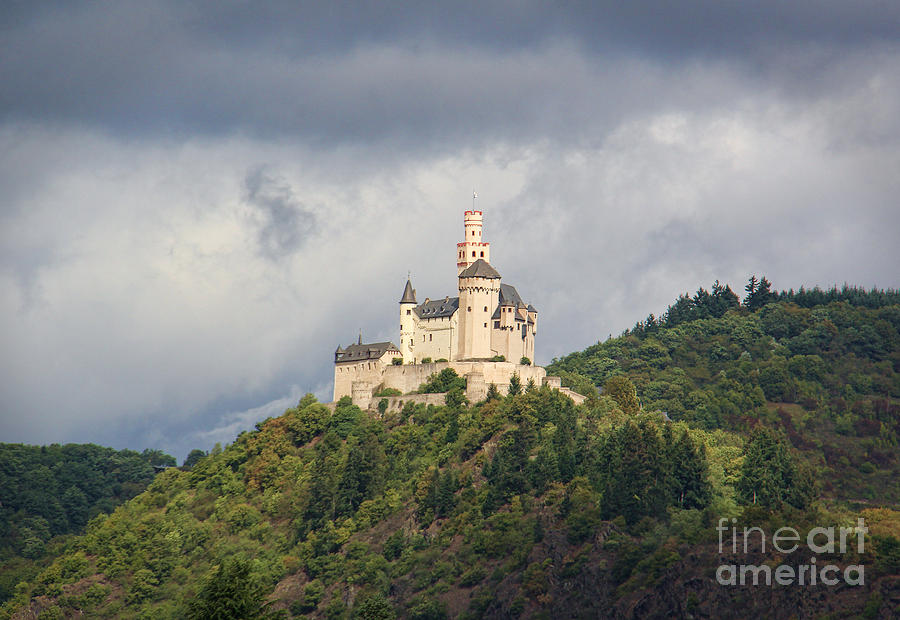 Castle Photograph - Marksburg Castle by Michelle Tinger