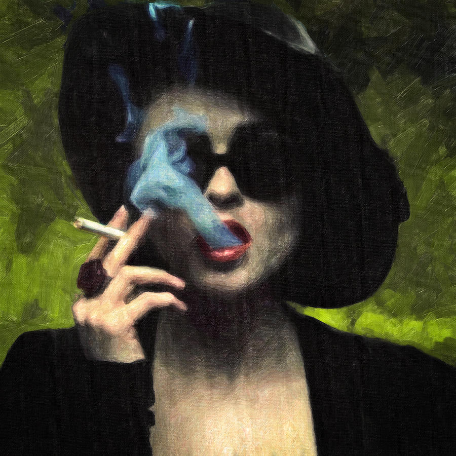 Marla Singer Painting