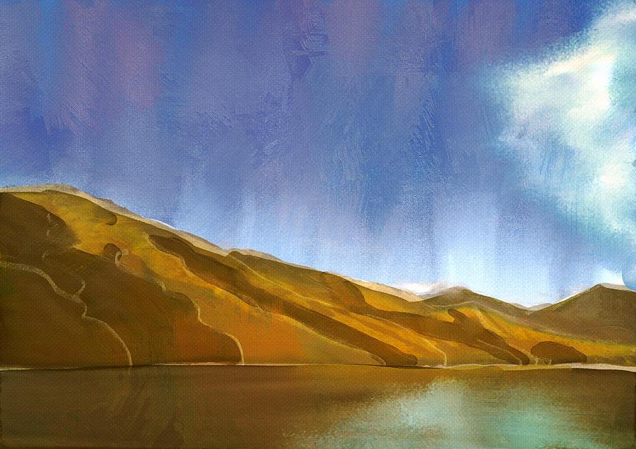 Digital Digital Art - Marlborough Sounds, New Zealand by Brett Shand