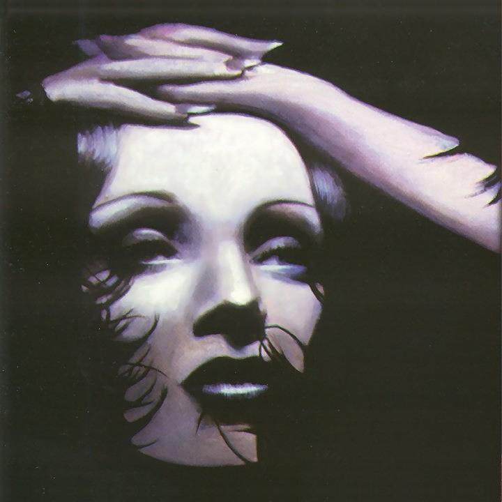 Woman Painting - Marlene Dietrich by Elizabeth Silk
