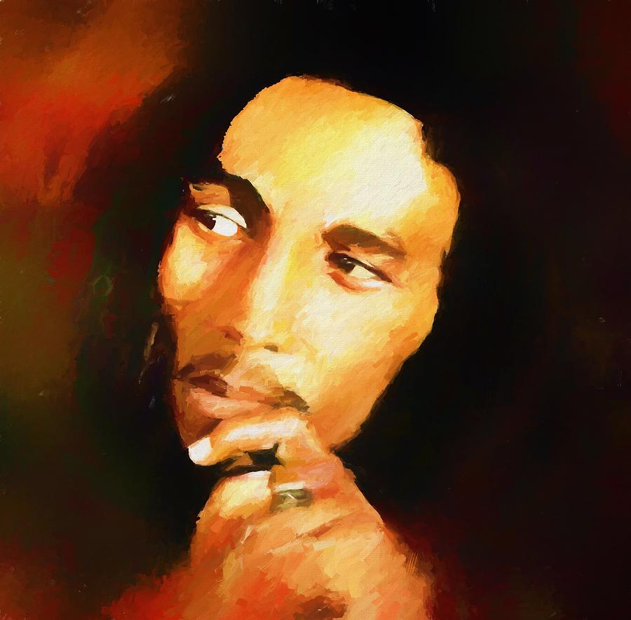 Marley Painting by Dan Sproul