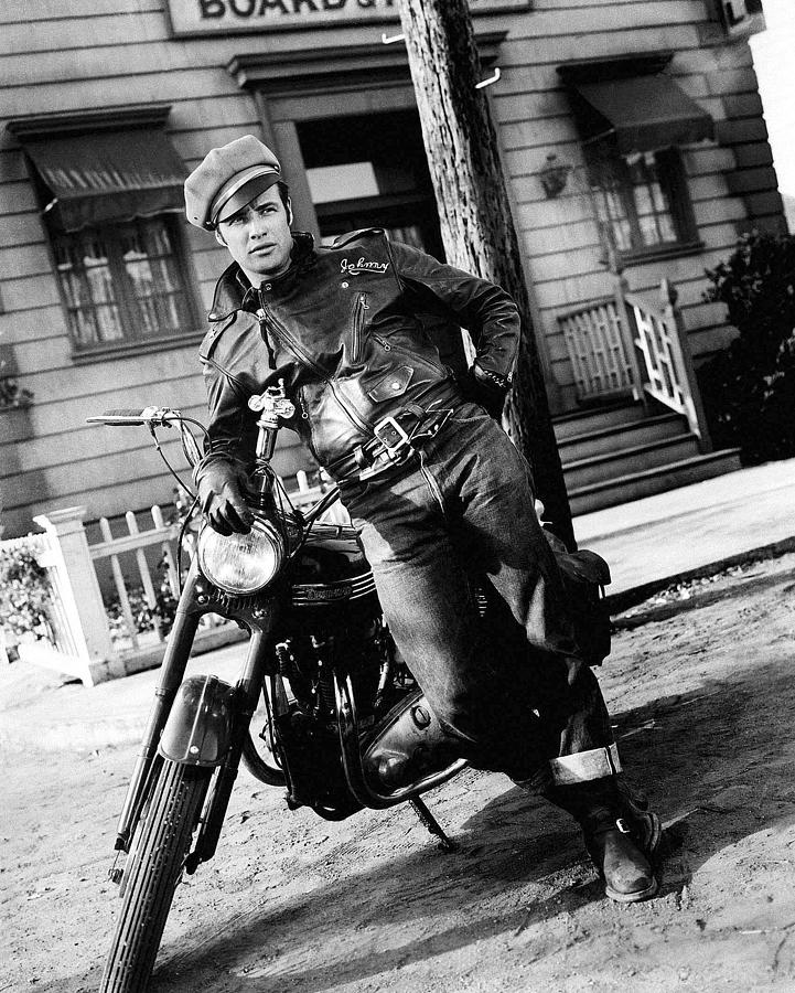 Marlon Brando The Wild One 1954 Photograph by David Lee Guss