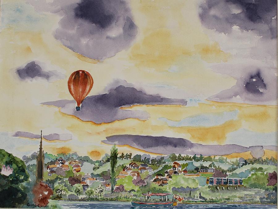 Marlow Painting - Marlow Impression by Geeta Biswas