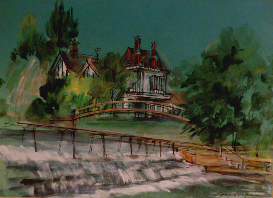 Marlow On The Thames Painting