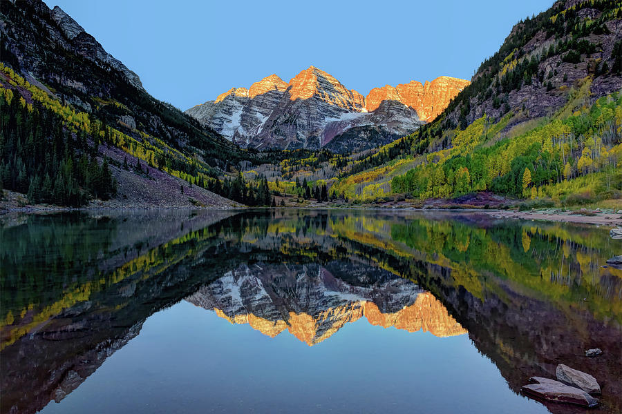 Maroon Bells Sunrise by Mark Whitt