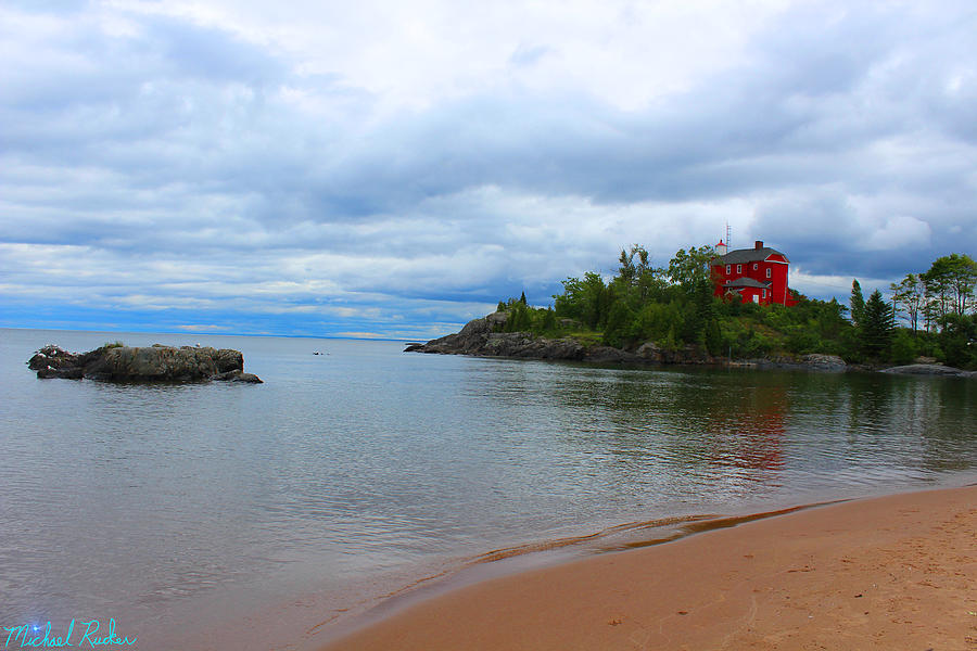 Michigan Photograph - Marquette Harbor Lighthouse by Michael Rucker
