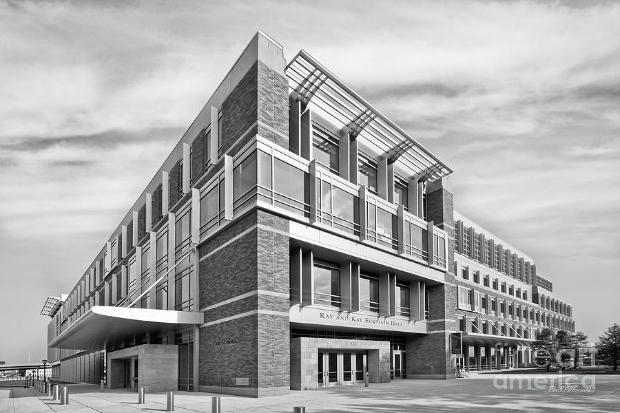 Marquette University Photograph - Marquette University Eckstein Hall  by University Icons